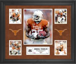 Jamaal Charles Texas Longhorns Framed 5-Photo Collage