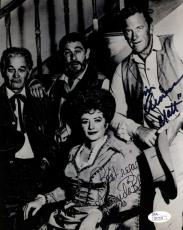 JAMES ARNESS AMANDA BLAKE GUNSMOKE JSA SIGNED 8x10 PHOTO AUTHENTICATED AUTOGRAPH