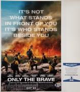 JAMES BADGE DALE Signed 11x14 Photo ONLY THE BRAVE Iron Man 3 ~ Beckett BAS COA