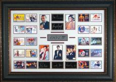James Bond 007 Collection Replica Autographed Wall Decor