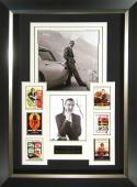 Sean Connery James Bond Aston Martin Signed Display