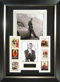 Sean Connery James Bond Aston Martin Signed Display