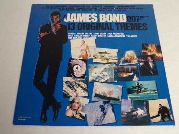 James Bond Greatest Hits 1983 ORIGINAL Vintage Vinyl LP Record Album