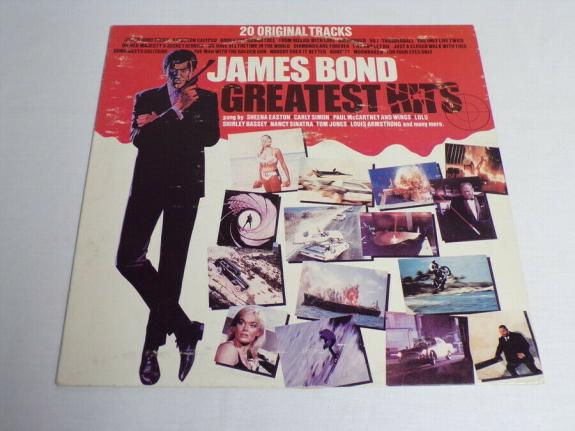 James Bond Greatest Hits ORIGINAL Vintage Vinyl LP Record Album