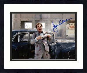 James Caan signed The Godfather Sonny Corleone 11X14 Photo (horizontal-Toll Booth Getting Shot) - Schwartz Hologram