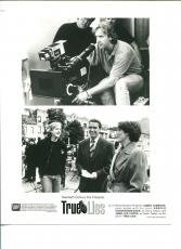 James Cameron Arnold Schwarzenegger Jamie Lee Curtis True Lies Movie Press Photo