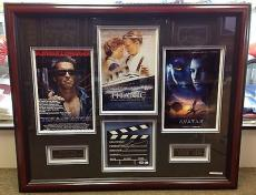 James Cameron Custom Framed signed Directors Cut PSA/DNA # D32081