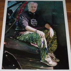 James Cameron Signed 11x14 Photo Titanic Avatar  Terminator Autograph Coa A