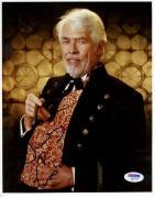 "James Coburn Autographed 8""x 10"" Maverick Holding Cigar Photograph - PSA/DNA COA"