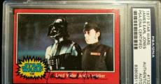 James Earl Jones 1977 Topps Darth Vader AUTO Signed Autograph PSA/DNA Star Wars