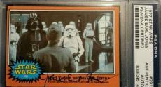 James Earl Jones 1977 Topps Darth Vader AUTO Signed Autograph PSA/DNA Star Wars