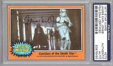 James Earl Jones 1977 Topps Star Wars Signed Auto Psa Dna Slabbed Darth Vader :)