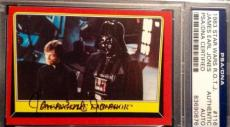 James Earl Jones 1983 Topps Darth Vader AUTO Signed Autograph PSA/DNA Star Wars
