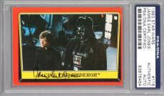James Earl Jones 1983 Topps Star Wars Signed Auto Psa Dna Slabbed Darth Vader :)