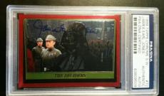 James Earl Jones 1999 Topps Darth Vader AUTO Signed Autograph PSA/DNA Star Wars