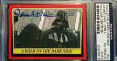 James Earl Jones 2004 Topps Darth Vader AUTO Signed Autograph PSA/DNA Star Wars