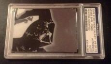 James Earl Jones 2009 Star Wars Galaxy Darth Vader AUTO Signed Autograph PSA/DNA
