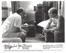 """JAMES EARL JONES as RAY MURDOCK in """"A FAMILY THING"""" Signed 10x8 B/W Photo"""
