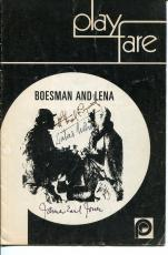 James Earl Jones Athol Fugard Zakes Mokae Boesman Lena Signed Autograph Playbill
