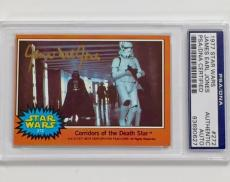 JAMES EARL JONES Auto Darth Vader Signed 1977 Topps STAR WARS Card PSA/DNA COA