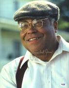 "James Earl Jones Autographed 11"" x 14"" Field of Dreams Smiling Photograph Gold Ink- PSA/DNA COA"
