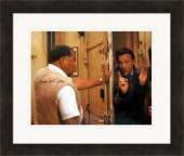 James Earl Jones autographed 8x10 photo (Field of Dreams) #SC2 Matted & Framed
