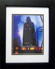 James Earl Jones autographed 8x10 photo (Voice of Darth Vader Star Wars) Image #SC206 Framed and Matted