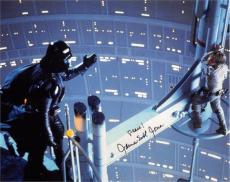 James Earl Jones autographed photo (Darth Vader Star Wars Empire Strikes Back) size 8x10 image #SC21