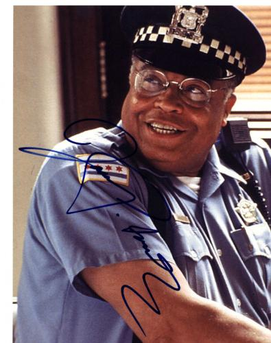 James Earl Jones Autographed Signed 8x10 Cop Photo UACC RD AFTAL