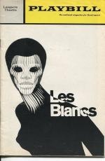 James Earl Jones Cameron Mitchell Earle Hyman Les Blancs Oct 1970 Playbill