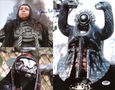 James Earl Jones Conan the Barbarian Signed 11X14 Photo PSA #AB43679