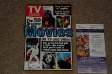 """James Earl Jones """"darth Vader"""" Signed Autographed Tv Guide Cover Jsa Certified"""