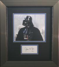 JAMES EARL JONES (Darth Vader-Star Wars) signed/framed photo display-JSA Auth