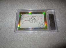 James Earl Jones Dave Prowse 2014 Leaf Cut Signature 1/1 Star Wars Darth Vader