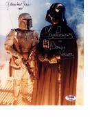 JAMES EARL JONES, DAVE PROWSE & JEREMY BULLOCH Signed 8x10 Photo PSA/DNA AB04893