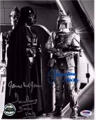JAMES EARL JONES, DAVE PROWSE & JEREMY BULLOCH Signed 8x10 Photo PSA/DNA #K15040