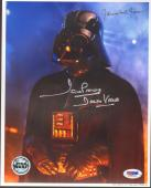 "JAMES EARL JONES & DAVE PROWSE Signed ""DARTH VADER"" 8x10 Photo PSA/DNA #G40965"