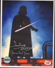 "JAMES EARL JONES & DAVE PROWSE Signed ""DARTH VADER"" 8x10 Photo PSA/DNA #M76224"