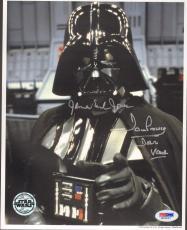"JAMES EARL JONES & DAVE PROWSE Signed ""DARTH VADER"" 8x10 Photo PSA/DNA #M76227"