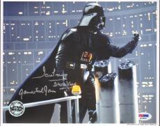 "JAMES EARL JONES & DAVE PROWSE Signed ""DARTH VADER"" 8x10 Photo PSA/DNA #M76846"