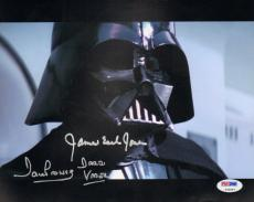 "JAMES EARL JONES & DAVE PROWSE Signed ""DARTH VADER"" 8x10 Photo PSA/DNA #T32567"