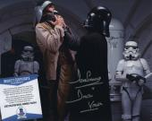James Earl Jones & Dave Prowse Signed Darth Vader Star Wars Photo Beckett Bas