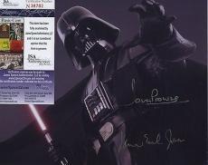 James Earl Jones & Dave Prowse Star Wars Jsa Coa Spence Signed Photo Darth Vader