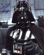 James Earl Jones & David Prowse Star Wars Signed 11X14 Photo BAS #C58885