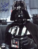 James Earl Jones & David Prowse Star Wars Signed 11X14 Photo BAS #C58885