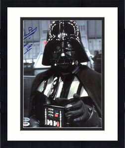 James Earl Jones & David Prowse Star Wars Signed 11X14 Photo BAS #C58886
