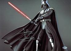 James Earl Jones & David Prowse Star Wars Signed 12x16 Photo BAS #C19485