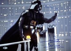 James Earl Jones & David Prowse Star Wars Signed 12x16 Photo BAS #C19488