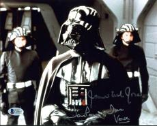 James Earl Jones & David Prowse Star Wars Signed 8X10 Photo BAS C19445