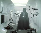 James Earl Jones & David Prowse Star Wars Signed 8X10 Photo BAS C19446
